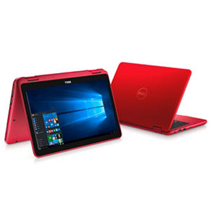"Dell 2-in-1 Convertible Touchscreen 11.6"" Notebook, Intel Core m3-6Y30 Processor, 4GB Memory, 500GB Hard Drive, Windows 10, Available in: Red and Blue"