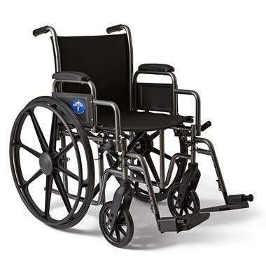 Height Adjustable Lightweight Wheelchair - 27