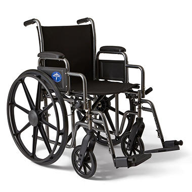 Height Adjustable Lightweight Wheelchair - 27