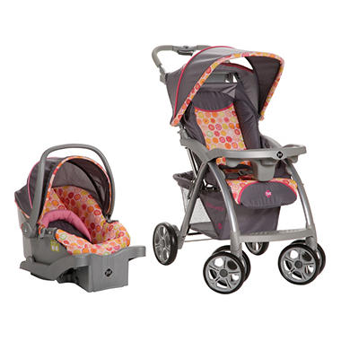 Safety 1st Saunter Travel System, Citrus