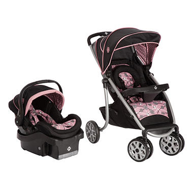 Safety 1st SleekRide LX Travel System, Vintage Romance