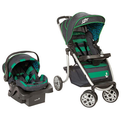 Safety 1st SleekRide Premier Travel System, Sail Away