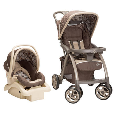 Safety 1st Saunter Luxe Travel System, Cubes