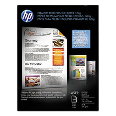 HP - Color Laser Presentation Paper, 97 Brightness, 32lb, 8-1/2 x 11, White -  250/Pack