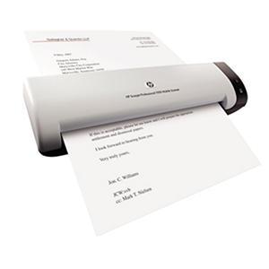 HP - Scanjet Professional 1000 Mobile Scanner -  600 x 600 dpi