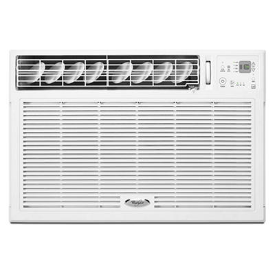 Whirlpool Energy Star 12,000 BTU 115V Window-Mounted Air Conditioner with Remote Control
