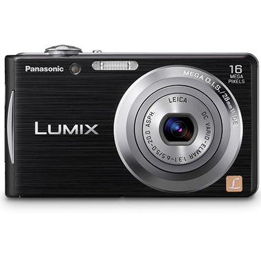 Panasonic DMC-FH5 16.1MP Digital Camera - Black