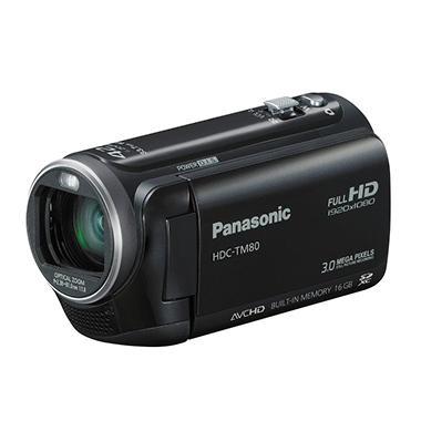 Panasonic HDC-TM80 HD Camcorder - Black