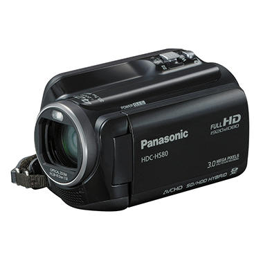 Panasonic HDC-HS80 HD 120GB Camcorder