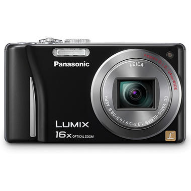 Panasonic DMC-ZS8 14.1MP Digital Camera - Black