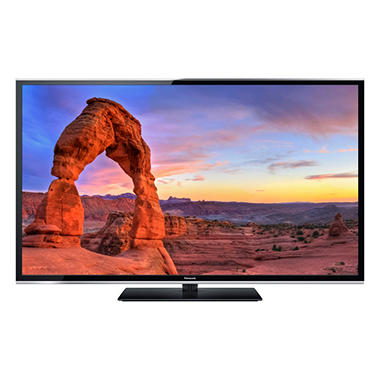 "65"" Panasonic Plasma 1080p Smart HDTV w/ Wi-Fi"