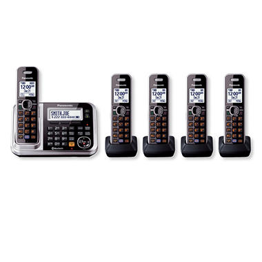 Panasonic Bluetooth Cellular Convergence Solution w/ 5 Handsets