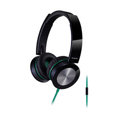 Panasonic RP-HXS400M-K Sound Rush Headphones - Choose Color