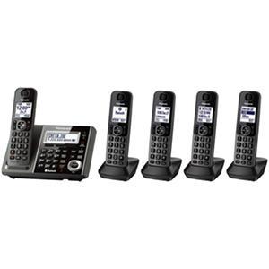 Panasonic 5 Handset Link2Cell Cordless Phone