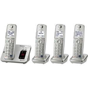 Panasonic 4 Handset Link2Cell Cordless Phone