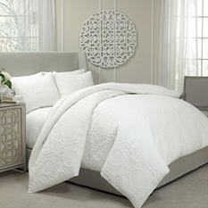Vue Barcelona Quilted Coverlet and Duvet Ensemble - Various Sizes & Colors