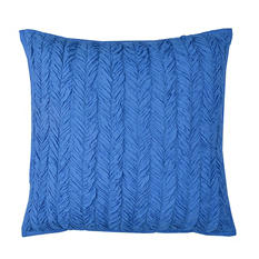 "Vue Braided Texture 18"" Square Accessory Pillow - Various Colors"