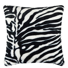 Vue Faux Fur Pillow - Various Prints