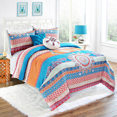Vue Vista Comforter Set Various Sizes  14616BEDDTXLMUL