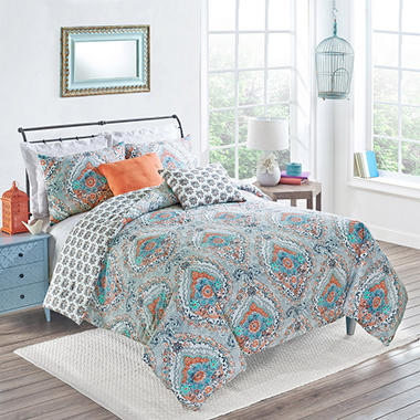 Vue Savannah Comforter Set Various Sizes  14617BEDDTXLCRL