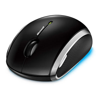 Microsoft Wireless BlueTrack Technology Mobile Mouse 6000