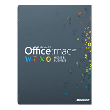 Microsoft Office for Mac Home and Business 2011 - 2 pk.