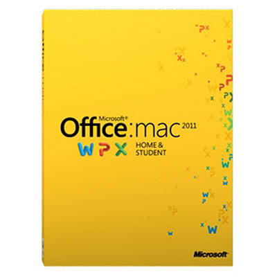 Microsoft Office Home and Student 2011 - Mac