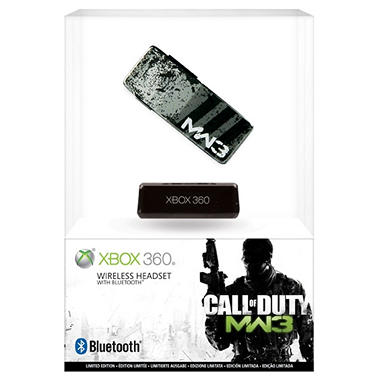 Xbox 360 Call of Duty: Modern Warfare 3 Wireless Headset with Bluetooth