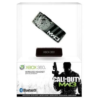 Xbox 360 Call of Duty: Modern Warfare 3 Wireless Headset with Bluetooth