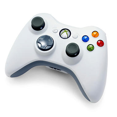 Microsoft Xbox 360 Special Edition White Wireless Controller