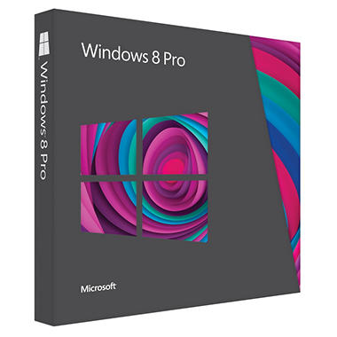 Microsoft Windows 8 Pro - 1 User