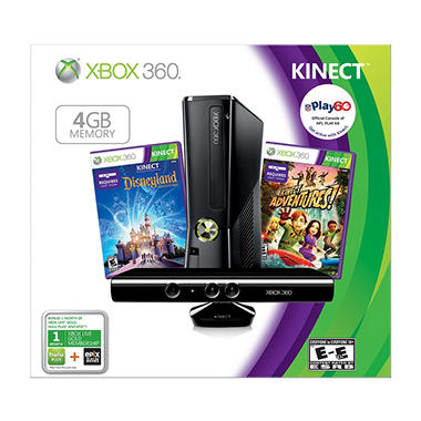 *$199.98 after $50 Tech Savings* Xbox 360 4GB Kinect Holiday Value Bundle