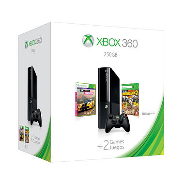 Xbox 360E 250GB Console with Borderlands 2 and Forza Horizon