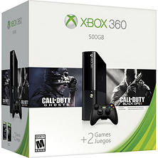 Xbox 360 500GB Holiday Value Bundle with Call of Duty: Black Ops II and Call of Duty: Ghosts