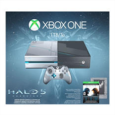 Xbox One 1TB Console with Halo 5: Guardians Limited Edition Bundle