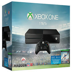 Xbox One 1TB with Madden NFL 16 Bundle
