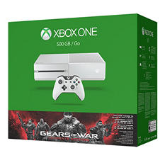 Xbox One 500GB White Console Gears of War: Ultimate Edition Bundle