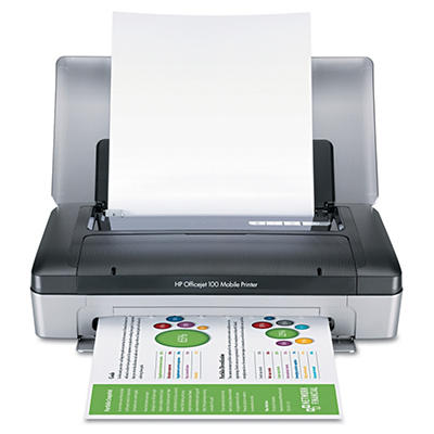HP Officejet 100 Mobile Inkjet Printer - Bluetooth-Enabled