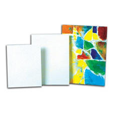 Sax Genuine Canvas Panel, 14 X 18 Inches, 35-Ply, White