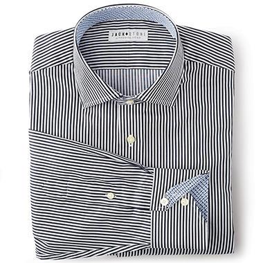 Jack Stone Men's Fashion Woven Shirt