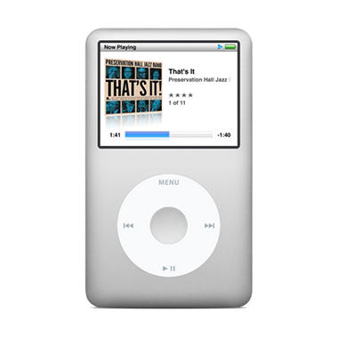 Apple iPod Classic 160GB - Black or Silver