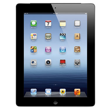 iPad with Retina display 16GB Black w/ Wi-Fi and Cellular ? Verizon, AT&T, and Sprint