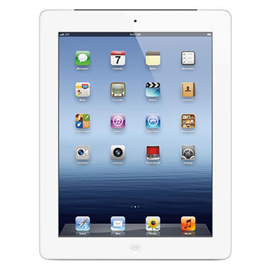 iPad with Retina display 32GB White w/ Wi-Fi and Cellular - Verizon, AT&T, and Sprint