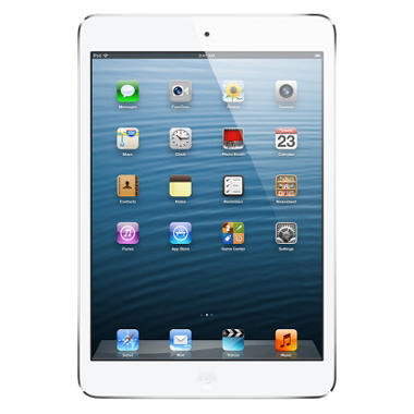 iPad Mini 64GB White w/ Wi-Fi and Cellular – Verizon, AT&T, and Sprint