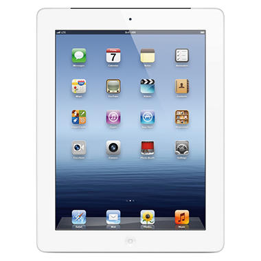 iPad with Retina display 16GB White w/ Wi-Fi and Cellular – Verizon, AT&T, and Sprint