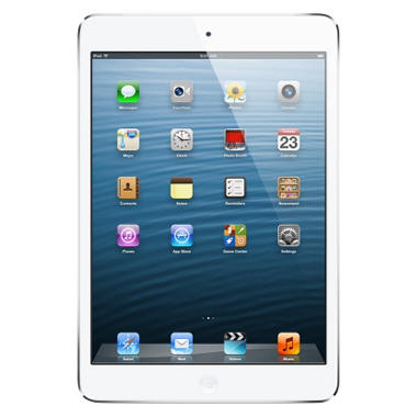 iPad Mini 16GB White w/ Wi-Fi and Cellular ? Verizon, AT&T, and Sprint