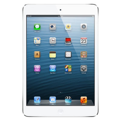 iPad Mini 16GB White w/ Wi-Fi and Cellular - Verizon, AT&T, and Sprint