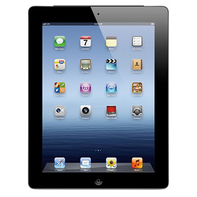 iPad with Retina display 64GB Black w/ Wi-Fi and Cellular - Verizon, AT&T, and Sprint