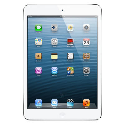 iPad Mini 64GB White w/ Wi-Fi and Cellular - Verizon, AT&T, and Sprint