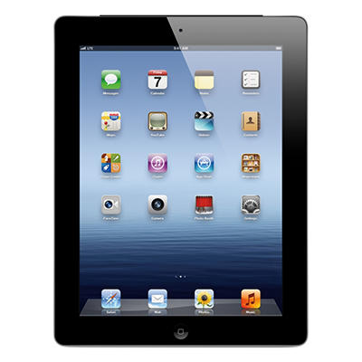 iPad with Retina display 128GB Black w/ Wi-Fi and Cellular - Verizon, AT&T, and Sprint